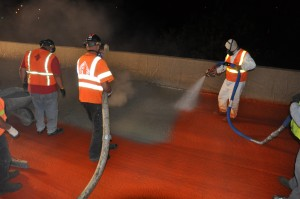 Bridge Preservation™ BD Top Coat Cold Liquid Spray Applied Waterproofing Membrane