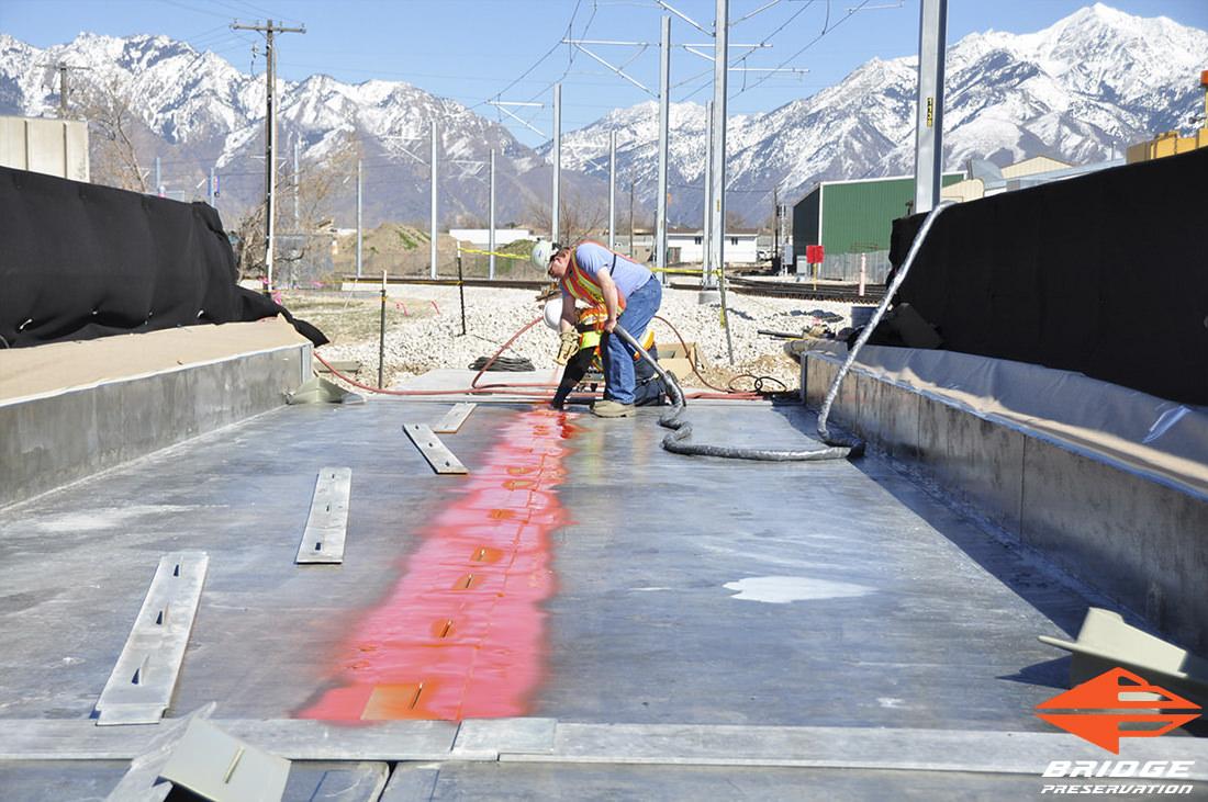 bridge deck waterproofing