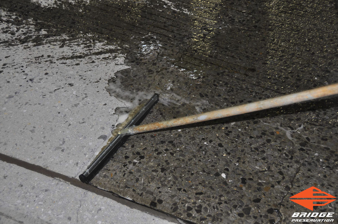 spray applied waterproofing for highway bridges