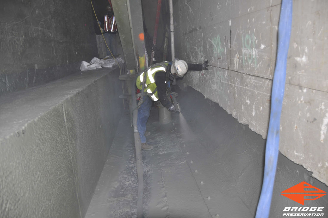 spray applied tunnel waterproofing membrane