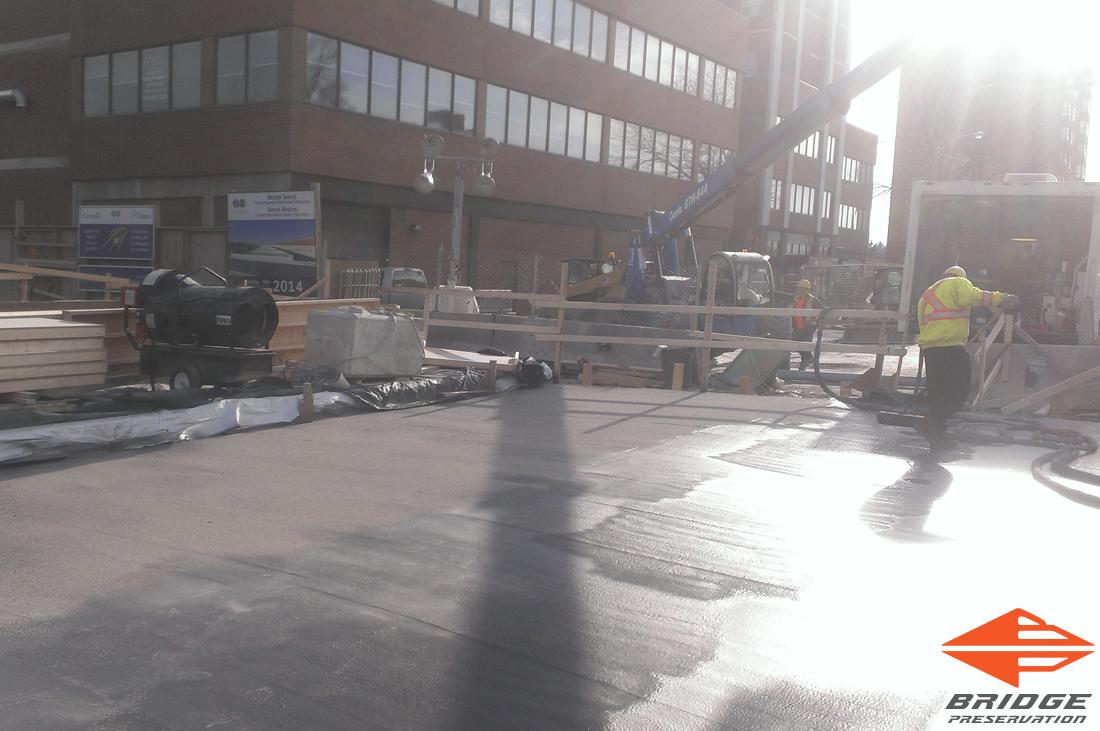 spray applied waterproofing for tunnels