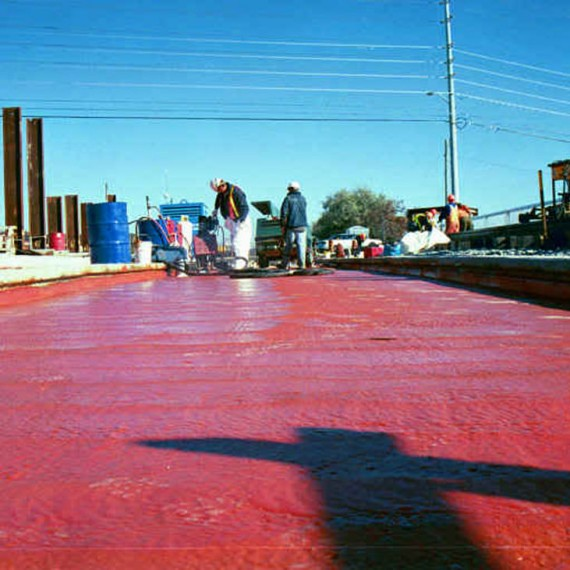 spray applied railroad waterproofing