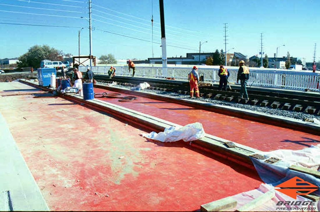 spray applied railroad waterproofing