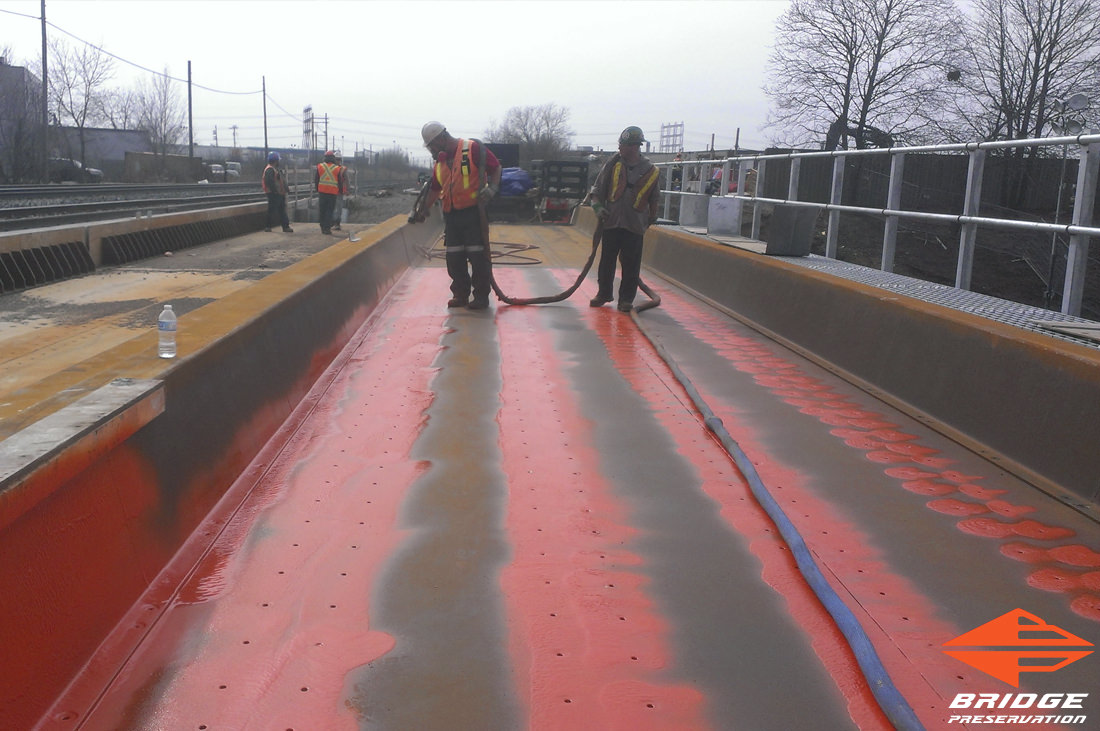 spray applied rail waterproofing