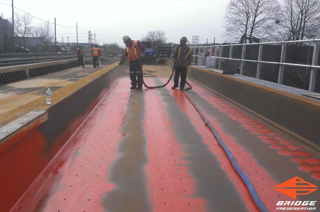 spray applied rail waterproofing