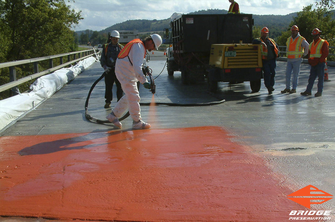 NYS DOT Route 22A Cold Fluid Applied Waterproofing