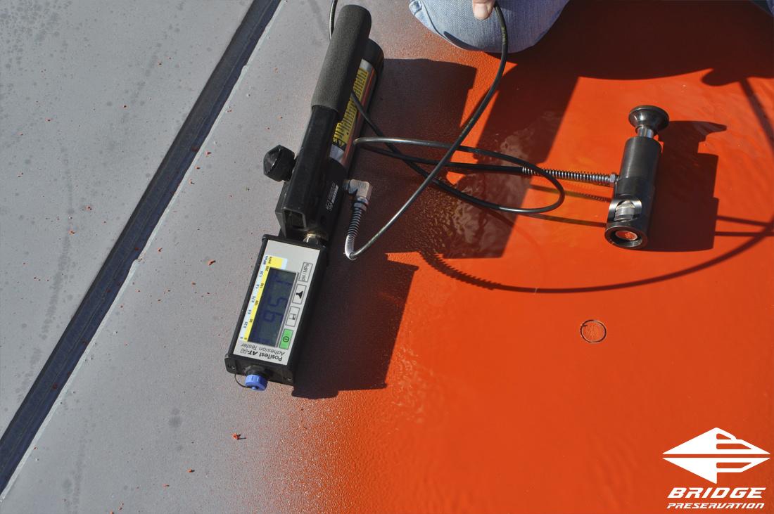 high performance spray applied ballast mat