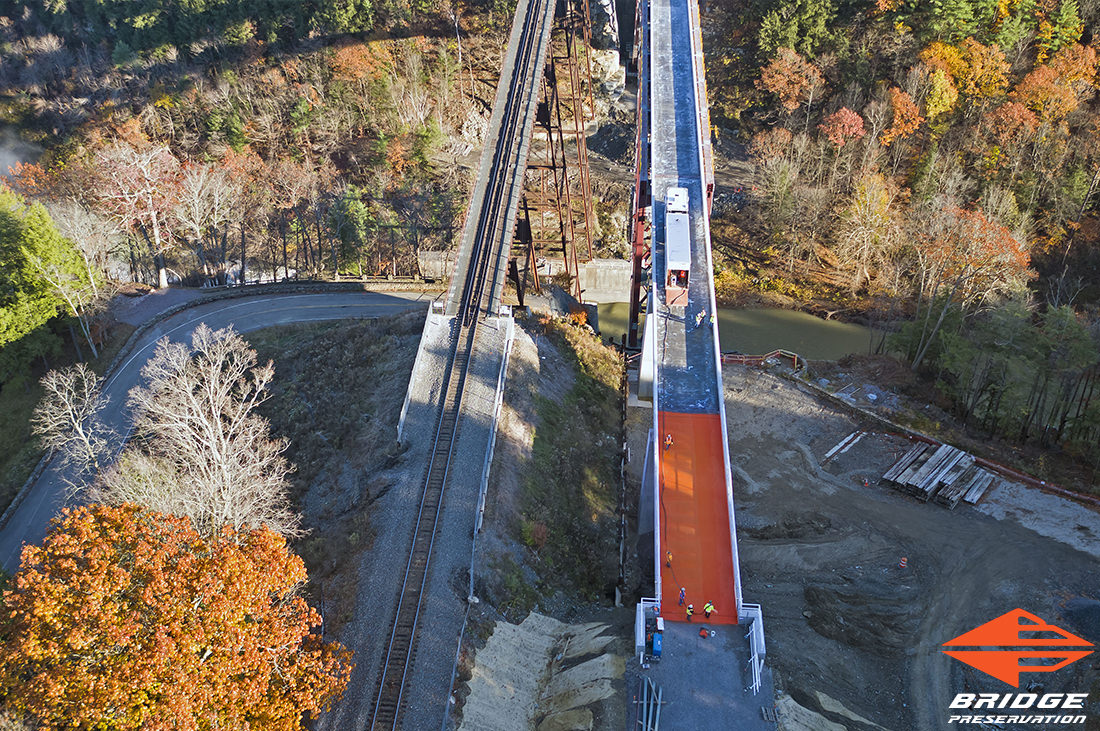 High Performance Waterproofing for Portageville Bridge