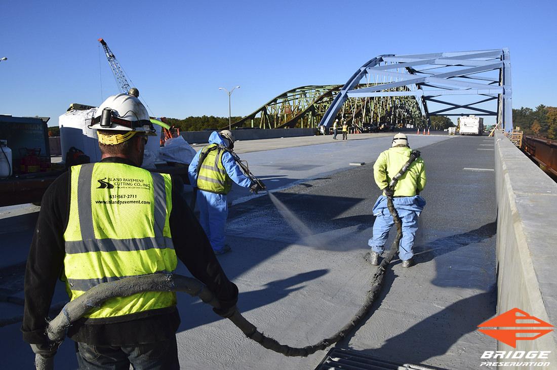 spray applied waterproofing whittier bridge